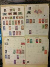 Dahomey collection 1901-1941 Scott + Minkus pages