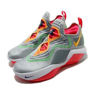 Nike LeBron Soldier XIV EP 14 James Hare Silver Red Men Basketball CK6047-001