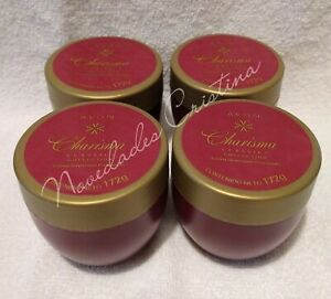 Lot of 4 Avon CHARISMA Perfumed Softening Cream /Crema Suavizante Perfumada 172g