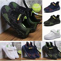 Jungen Mädchen Sport Schuhe Kinder Laufschuhe Atmungsaktiv Sneaker Turnschuhe