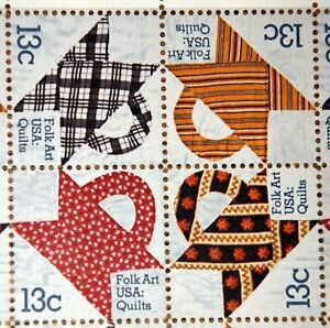 Make a Statement with your Stamps - Folk Art - Full sheet of 48 stamps