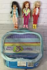 Wee 3 Three Friends Snow Fun Winter Dolls Set Janet Stacie Lila Mattel Barbie