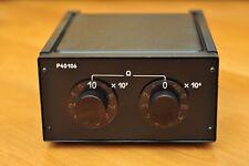 1-100MOhm 0.02% Decade resistance box resistor P40106