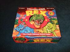 TYRANNOSAURUS REX THE CLASSIC DINOSAUR BOARD GAME BY PAUL LAMOND 2001