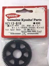 NEW 1st Spur Gear Set 61t suit SIII/RRR/RRR-Evo Kyosho part #VZ113-61B