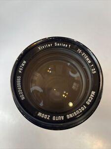 Vivitar Series 1 70-210mm 1:35 Lens 67mm Macro Focusing Auto Zoom