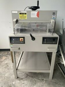 Ideal 4810-95 electric guillotine.