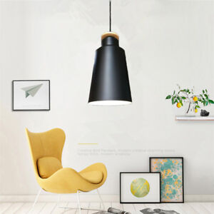 Black Pendant Light Modern Ceiling Light Fixture Shop Wood Chandelier Lighting