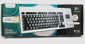 Logitech Bluetooth MediaBoard Pro for Playstation 3 Keyboard PS3 New open box