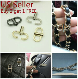 Purse Chain Strap Handle Adjusting Buckle Shoulder Crossbody Handbag Bag Metal