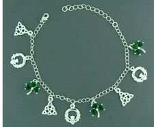 Celtic Pewter Irish Charm Bracelet
