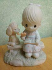 "Precious Moments ""Love Is Sharing� Enesco #E-3110/G 1979 Jonathan & David"