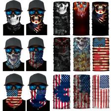 Mens Tube Scarf Bandana Face Wrap Neck Gaiter Mouth Cover Snood Outdoor Headwear