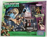 Mega Bloks Teenage Mutant Ninja Turtles Mikey Pizzeria Showdown 129 PCS NEW