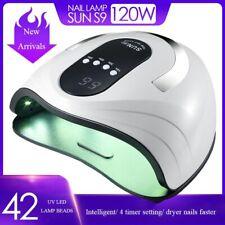 UV Lamp Nail Dryer Pro LED Gel Fast Curing Gel Polish For Manicure 54W/80W/120W