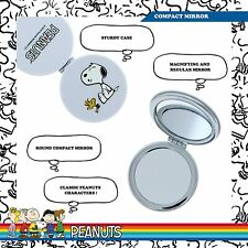 Peanuts Snoopy - Compact Mirror Folding Magnified Double Sided Classic C