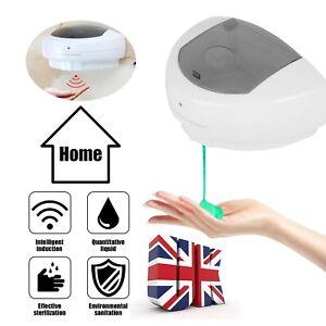 Automatic IR Sensor Touchless Soap Dispenser Public Hands Sanitizer 450ML UK