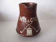 VINTAGE W.B.& Co. TOBACCO ?? ADVERTISING PUB WATER JUG