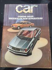 November 1977, CAR, Mel Nichols, NSU Ro80, BMW 728, Free Postage