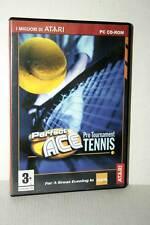 PERFECT ACE PRO TOURNAMENT TENNIS USATO PC CD ROM VERSIONE ITALIANA GD1 47457