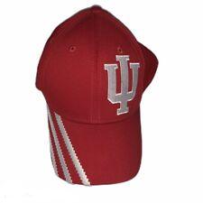 Indiana University Hoosiers IU adidas Originals Cap Hat Red Flex Fit S/M EUC
