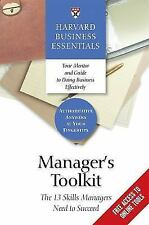 Manager's Toolkit: The 13 Skills Managers Need to Succeed (Paperback or Softback