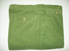 J McLaughlin Walker 14 Wale Corduroy Pants NWT 38 unhemmed $165 Spruce Green