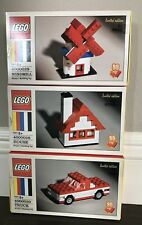 LEGO 60th Anniversary Limited Edition 4000028, 4000029, 4000030 Complete set New