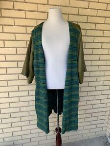 Vintage 60s Bonnie Cashin Leather Jacket Coat Wool Lining