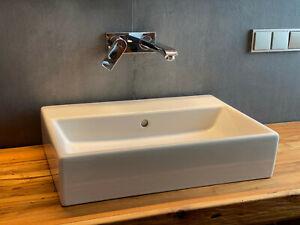 Villeroy & Boch Memento 2.0 Aufsatz-Waschtisch weiß mit CeramicPlus