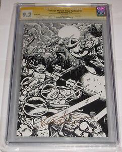 IDW Teenage Mutant Ninja Turtles 36 CGC 9.2 Virgin Sketch Cover SS Kevin Eastman