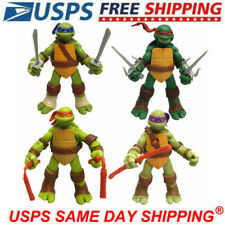 4Pcs Teenage Mutant Ninja Turtles Classic Collection 2012 Tmnt Figures Toys Gift