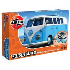 Airfix Quickbuild Volkswagen VW Camper Van J6024 Blue Car Model Kit NEW