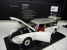 1:18 norev Citroen DS 21 break 1970 blanco white nuevo New