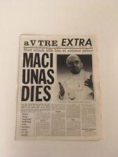 a VTRE EXTRA FLuxus newspaper 11