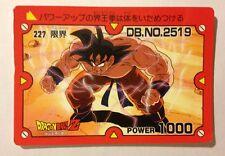 Dragon Ball Z PP Card 227