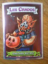 Image * Les CRADOS 3 N°76 * 2004 album card Sticker FRANCE Garbage Pail Kid