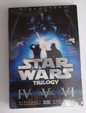 DVD Star Wars Trilogy (6-Disc) W/S, RARE HTF NEW Theatrical, Han Shoots First