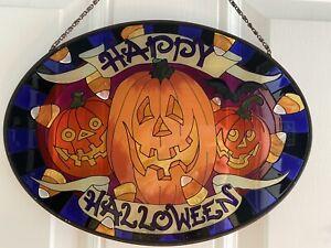 Joan Baker Designs Halloween Suncatcher