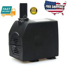 15W Home Submersible Fountain Water Pump Aquarium Hydroponic Pond Us Plug Filter