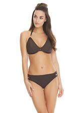 NEW Freya Glam Rock Underwired Halter Bikini Top ONLY 30D Rose Gold RRP £32