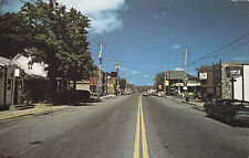 Direction nord du village de Rawdon par la rue Queen , Quebec , Canada , PU-1989