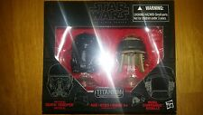 Star Wars Black Series Titanium Imperial Death Trooper Rebel Commando Helmets 06
