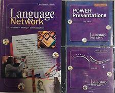Grade 12 Language Network +Teacher CDs Homeschool 12th Language Arts Curriculum