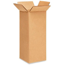 50 4x4x10 Cardboard Paper Boxes Mailing Packing Shipping Box Corrugated Carton