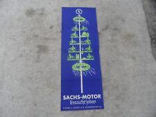 altes originales Prospekt  98er 98ccm Fichtel Sachs braucht jeder Maibaum selten
