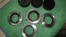 Lot Of 4 TAMRON LENS Adaptall 2 Mount For Olympus OM 1,2,3,4,10, 20, etc