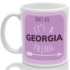Georgia's mug, Its a Georgia thing (Pink)