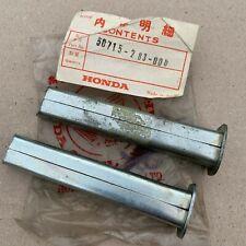 NOS Genuine Honda Metal Footpegs (Pair) CB450 CB350 CB250 CB175 Z50A CL250 CL350