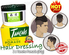 2X Hair Styling Dressing Pomade for Men Super Strong Hold Shine Cut Grab Now FS